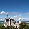 Flying High Over Neuschwanstein by Patricia Land