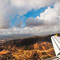 Flying Over Spanish Land IIi by Jenny Rainbow