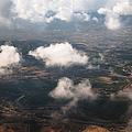 Flying Over Spanish Land Iv by Jenny Rainbow