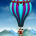 Flying Pig - Balloon - Up Up And Away by Mike Savad
