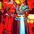 Folklorico Dancers by Randall Weidner