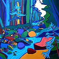 Follow The River Jackson Nh by Debra Bretton Robinson