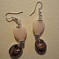 Follow Your Heart Sweet Pink Earrings by Jenna Green