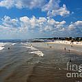 Folly Beach Charleston South Carolina by Susanne Van Hulst