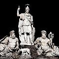 Fontana Della Dea Roma Tra Il Tevere E L'aniene by Fabrizio Troiani