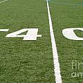 Football Field Forty by Henrik Lehnerer