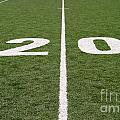 Football Field Twenty by Henrik Lehnerer