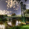 Footbridge Over The Severn  by Rob Hawkins
