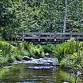Footbridge by Tom Heeter