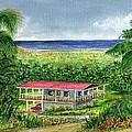 Foothills Of El Yunque Puerto Rico by Frank Hunter