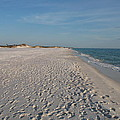 Footprints In The Sand by Christiane Schulze Art And Photography