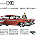 Ford Cars: Edsel, 1957 by Granger