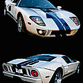 Ford Gt Twins by Bill Dutting