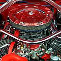 Ford Mustang Engine Bay by Chris Day