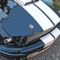 Ford Shelby Gt Nose Study by Samuel Sheats
