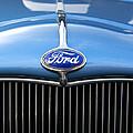 Ford Truck Emblem by Glenn Gordon