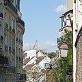 Foreshortening Of Paris With Windmill Sails by Fabrizio Ruggeri