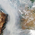Forest Fires In South America by Nasa