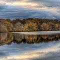 Forge River In Fall by Steve Gravano