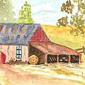 Forgotten Barn Postcard by Warren Thompson