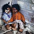 Forgotten Dolls Study IIi by Norma Warden