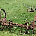 Forgotten Farm Equipment by Christiane Schulze Art And Photography