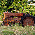 Forgotten Tractor 23 by Douglas Barnett