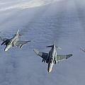 Formation Of Luftwaffe F-4f Phantom IIs by Gert Kromhout