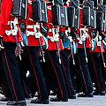 Fort Henry Guards Marching by Nicole Couture-Lord