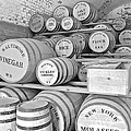 Fort Macon Food Supplies Bw 9070 3759 by Michael Peychich