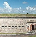 Fort Macon Panorama 1 by Michael Peychich