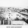 Fort Mchenry, 1862 by Granger