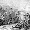 Fort Pillow Massacre, 1864 by Granger