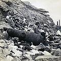 Fort Sumter Civil War Debris - C 1865 by International  Images