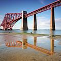 Forth Rail Bridge by Stu Meech