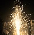 Fountain Firework by Sumit Mehndiratta