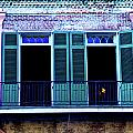 Four Balcony Windows by Frances Hattier
