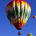 Four Hot Air Balloons by Garry Gay