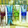 Four Vodka Glasses by Svetlana Sewell