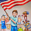 Fourth Of July by Nicole McKeever