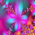 Fractal Flowers by Karen R Scoville