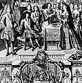 France: Baptism, 1704 by Granger