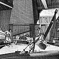 France: Iron Forge, C1750 by Granger