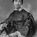 Frances Sargent Osgood (1811-1850). American Poet. Engraving From A Painting By Alonzo Chappel, C1873 by Granger
