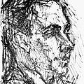 Francis Ponge (1899-1988) by Granger