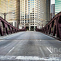 Franklin Orleans Street Bridge Chicago Loop by Paul Velgos