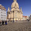 Frauenkirche And Surroundings by Katja Zuske