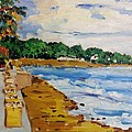 Frederiksted By The Pier by Diane Elgin