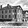 Freedmen School, 1868 by Granger