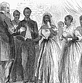 Freedmen: Wedding, 1866 by Granger